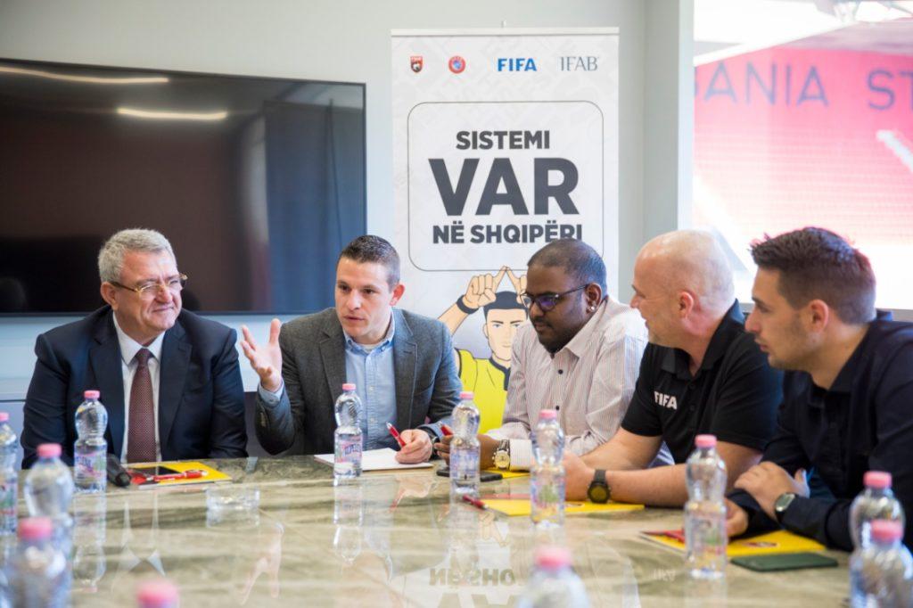 """Sistemi VAR, Presidenti Duka: """"Synojmë ta implementojmë në Superiore nga  sezoni 2021-2022"""" - FSHF"""